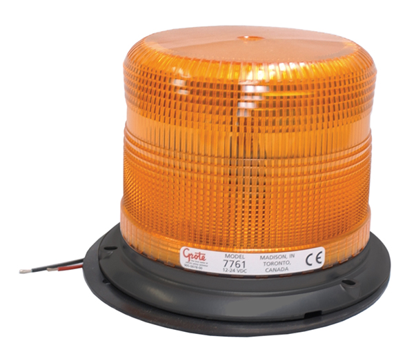 77613 – Medium Profile Heavy-Duty Strobe Light, Class I, Yellow