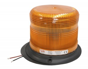 77623 – Medium Profile Heavy-Duty Strobe Light, Class II, Epoxy Base, Yellow