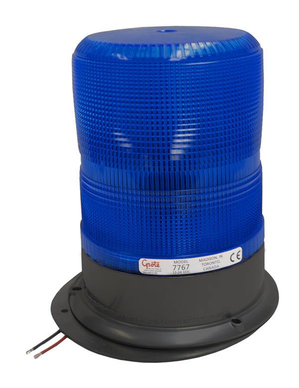 77675 – High Profile High-Intensity Smart Strobe, Blue