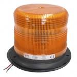 Yellow Medium Profile Heavy-Duty Strobe Light