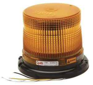 77813 – Medium Profile Class II LED Strobe, Yellow