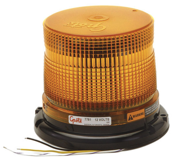 77813 – Medium Profile Class II LED Strobe, Yellow