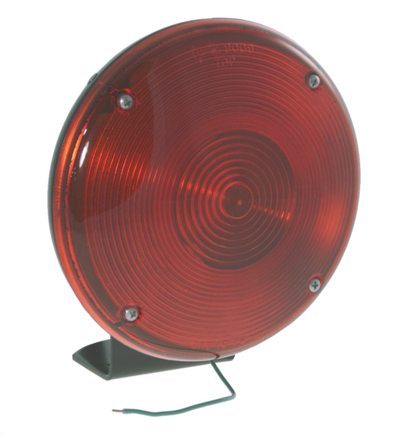 78002 – 7″ Single-Face Lamp, Red
