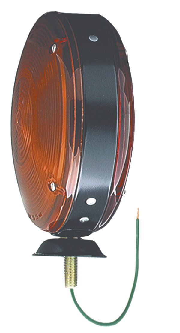 78150 – 7″ Double-Face Pedestal Light, Red/Yellow Turn