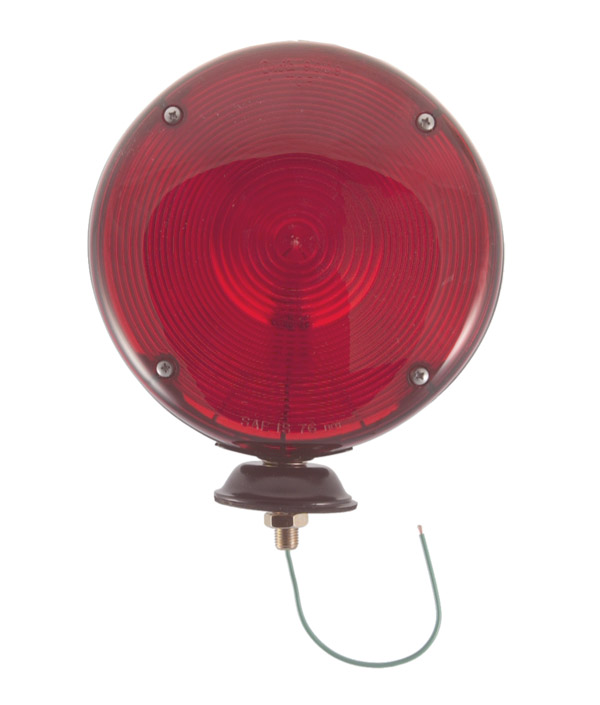 78152 – 7″ Double-Face Pedestal Light, Auxiliary, Red/Red