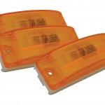 Sealed Turtleback® II Clearance Marker Light abs optic bulk yellow