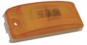 78363 – Sealed Turtleback® II Clearance Marker Light, ABS, Optic Lens, Yellow
