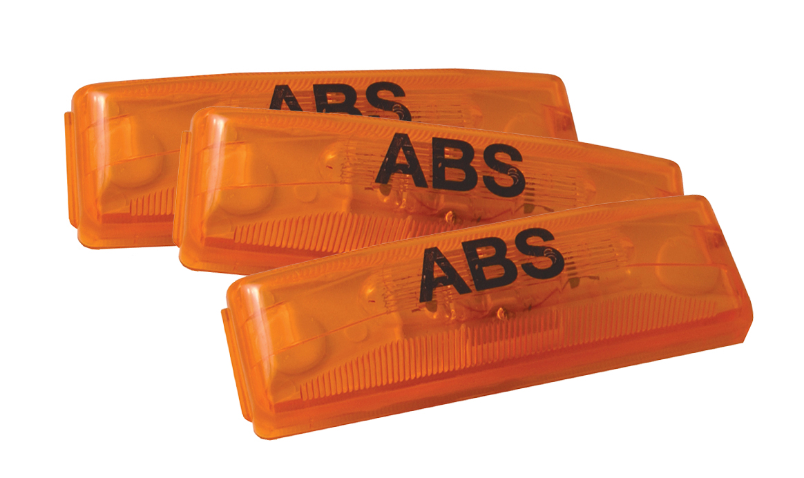 78393-3 – Clearance Marker Lights, ABS, Yellow, Bulk Pack
