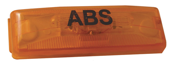 78393 – Clearance Marker Light, ABS, Yellow