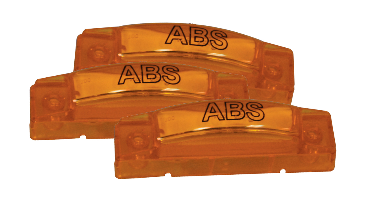 Grote Industries - 78453-3 – SuperNova® 3″ Thin-Line LED Clearance Marker Light, ABS, Yellow, Bulk Pack