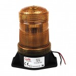 LED Material Handling Beacon, Low Intensity, Amber