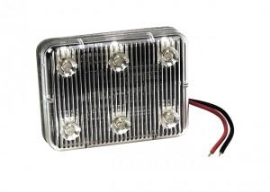 78833 – Self-Adhesive LED Auxiliary Light, Amber Rectangle