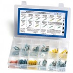 Heat-Shrink, Solder Terminal And Connector Assortment Kit, 120 Pieces