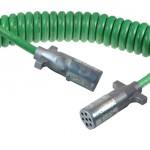 Green UltraLink™ ABS Power Cord, 15' w/12