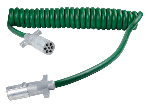 Grote Industries - 87105 – UltraLink™ ABS Power Cord, 20′ w/12″ Lead, Coiled, Premium