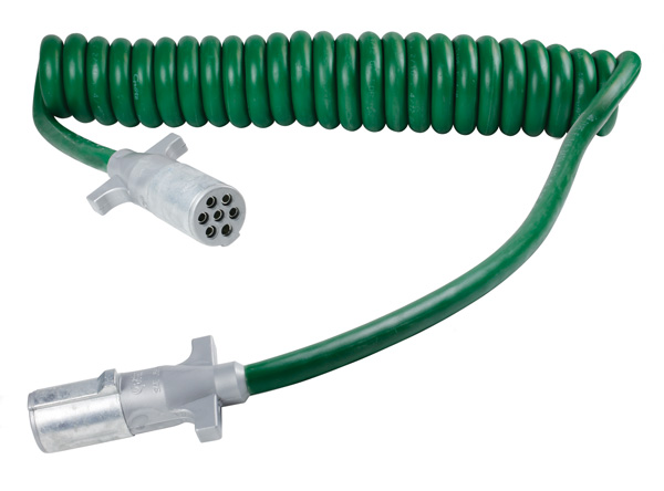 Grote Industries - 87170 – UltraLink™ ABS Power Cord, 15′ w/12″ & 48″ Lead, Coiled