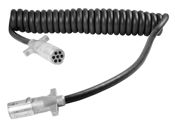 Grote Industries - 87180 – UltraLink™ Power Cord, 15′ w/72″ & 12″ Lead, Coiled, HD