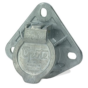 Ultra-Pin Receptacle Three-Hole Mount