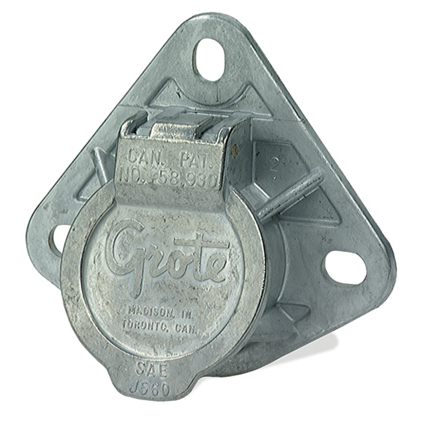 87240 – Ultra-Pin Receptacle Three-Hole Mount