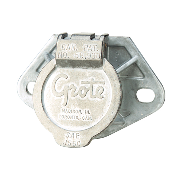 87250 – Ultra-Pin Receptacle Two-Hole Mount, Receptacle Only, Split Pin
