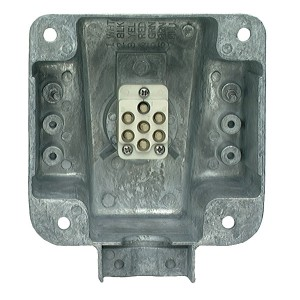 Ultra-Pin Receptacle Four-Hole Mount Nose Box