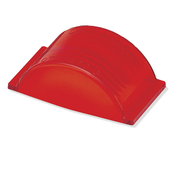 Grote Industries - 90052 – Clearance Marker Replacement Lens, Armored, Red