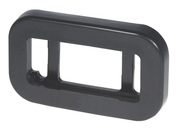 91380 – Grommet For Small Rectangular Lights, PVC, Black