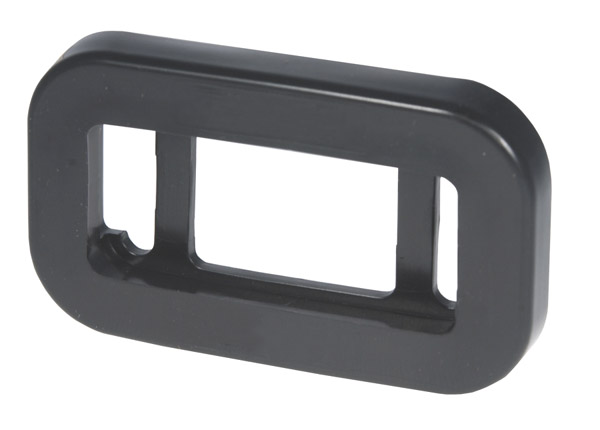 Grote Industries - 91380 – Grommet For Small Rectangular Lights, PVC, Black