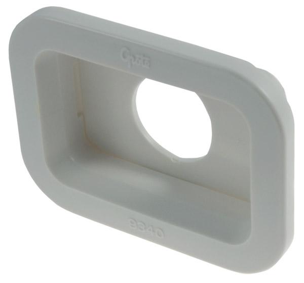 93400 – Grommet For Small Rectangular Lights, PVC, White