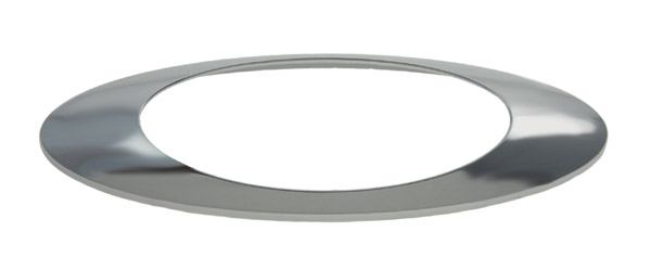 93453 – M1 Series Lamp Bezel, Chrome