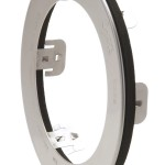 Stainless Steel Snap-In Theft-Resistant Flange For 4