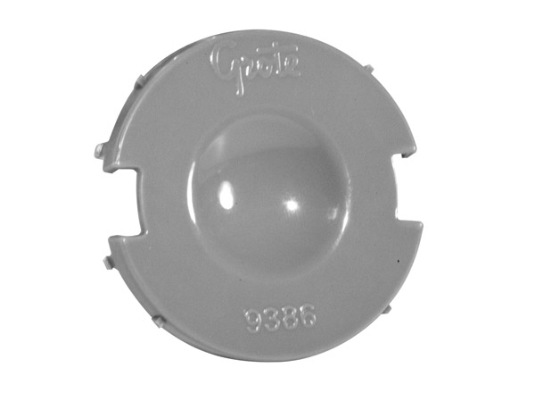 93860 – Snap-In Mounting Flange For 2 1/2″ Round Lights, Cap