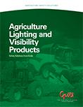 Folleto de iluminación para agricultura y productos de visibilidad de Grote