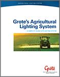Brochure Grote sur les systèmes d'éclairage pour l'agriculture