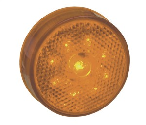 G1003 – Hi Count® 2 1/2″ LED Clearance Marker Light, Built-In Reflector, Yellow