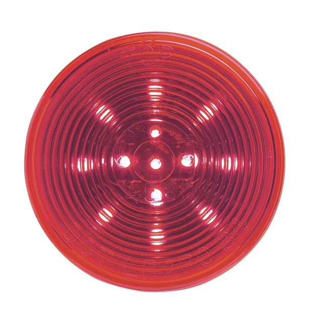 G1032 – Hi Count® 2 1/2″ LED Clearance Marker Light, Optic, Red