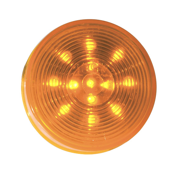 G1033 – Hi Count® 2 1/2″ LED Clearance Marker Light, Optic, Yellow