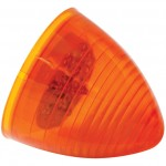 hi count 2 1/2 13 diode beehive led light yellow