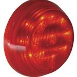 hi count 9 diode led clearance marker light red