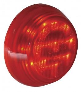 """Luces LED de gálibo/marcadoras Hi Count®, 9 diodos y2 1/2"""""""