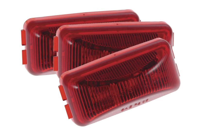 G1502-3 – 3″ Hi Count® 3-Diode LED Clearance Marker Lights, Red, Bulk Pack