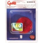 hi count 9 led clarance marker light red retail