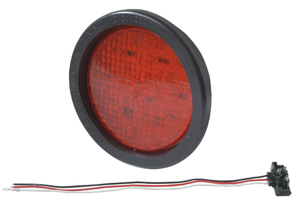 G4012 – Hi Count® 4″ LED Stop/Tail/Turn, Red,  Kit (G4002 + 91740 + 67090)
