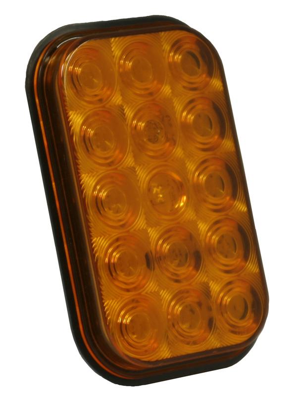 G4503 – Hi Count® Rectangular LED Stop Tail Turn Light, Yellow