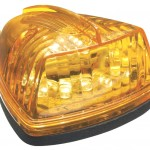 hi count school bus wedge led marker light yellow