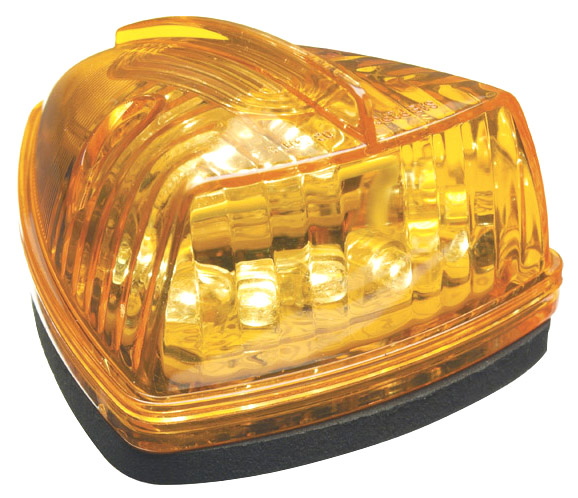 Grote Industries - G5053 – Hi Count® School Bus Wedge LED Marker Light, Yellow