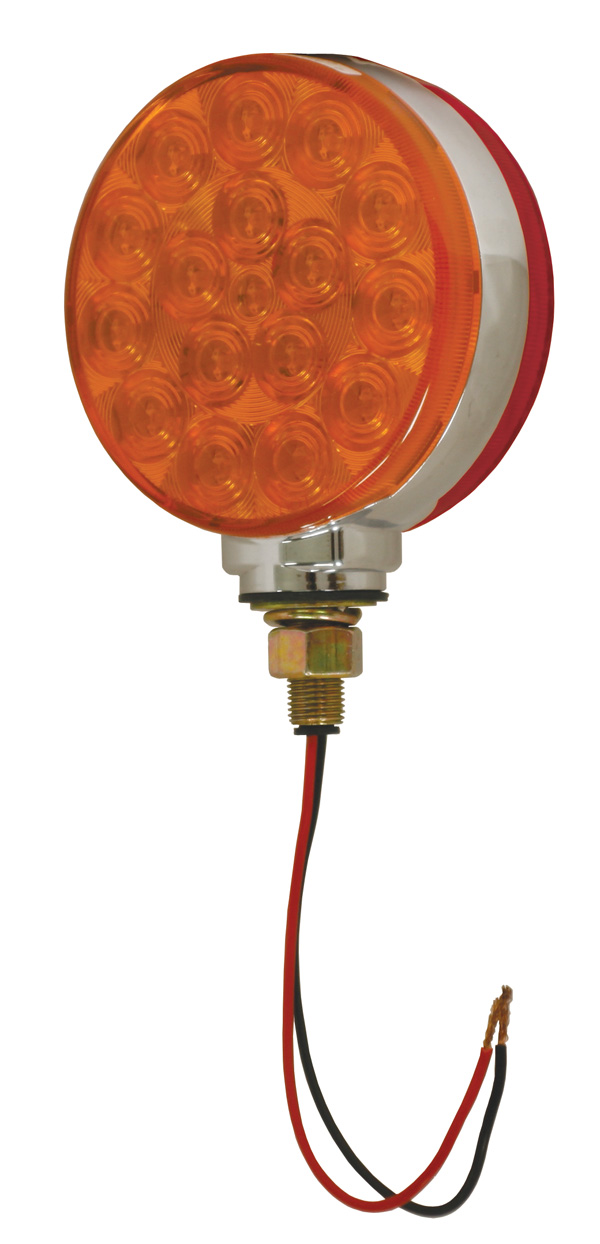 G5300 4 Quot Hi Count 174 Double Face Led Light Red Yellow