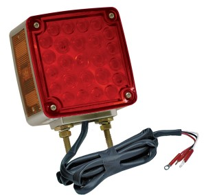 G5540 – Hi Count® Double-Face LED Stop Tail Turn Light w/ Side Marker, RH, Red/Yellow