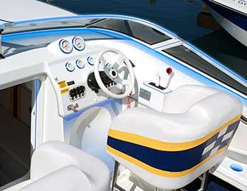LightForm de Grote sur un bateau