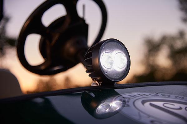 T26 64g01 LED Light on Golf Cart